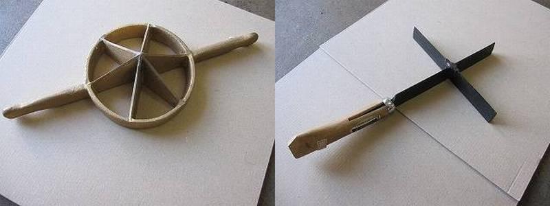 竹細工の道具 菊割り